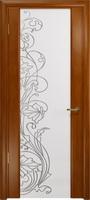 Арт Деко Стайл Спация-3 анегри темный триплекс белый с рисунком cо стразами